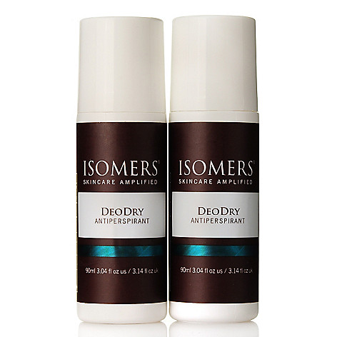 300-173 - ISOMERS Skincare DeoDry Antiperspirant Duo 3.04 oz Each