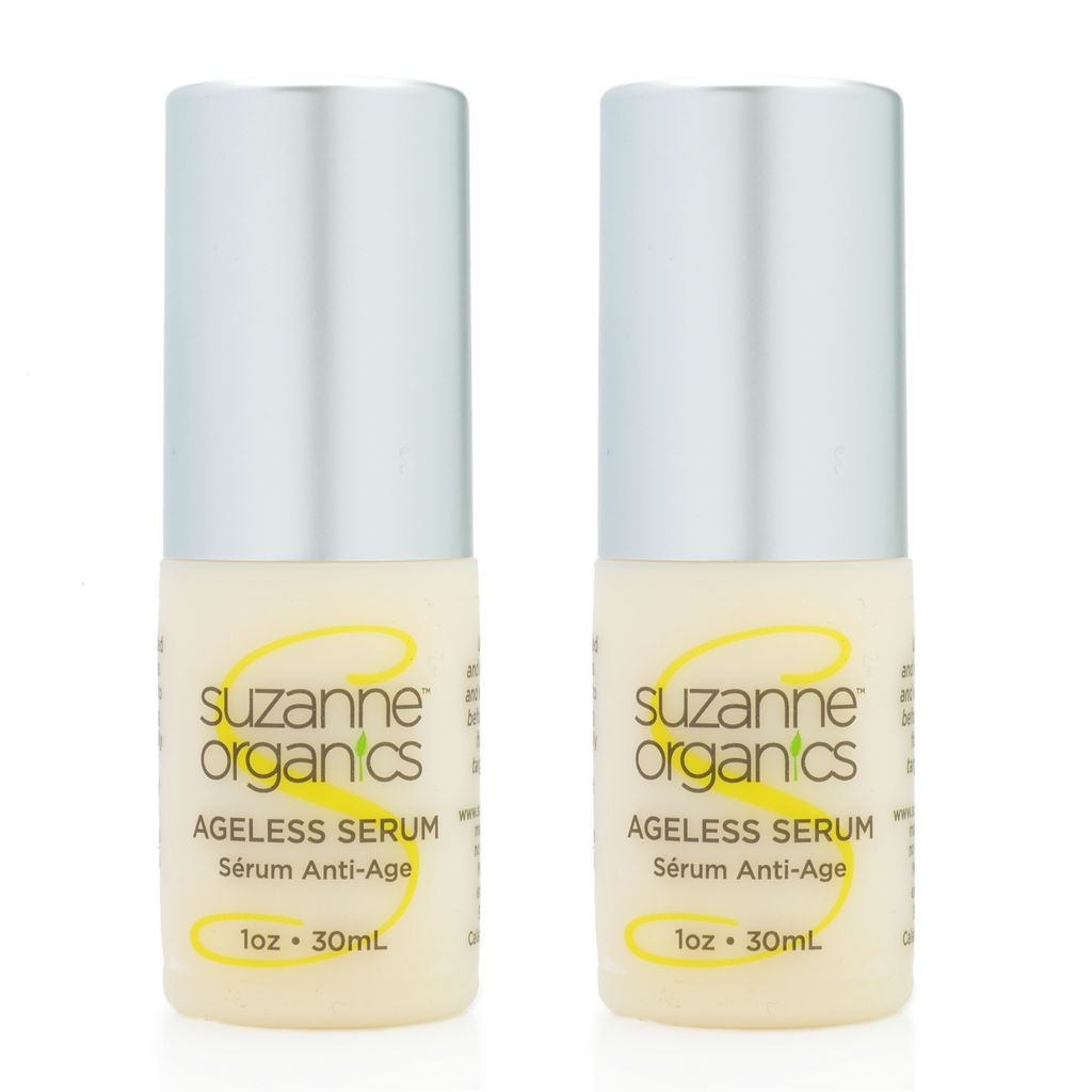 300-485 - Suzanne Somers Organics Ageless Serum Duo 1 oz Each