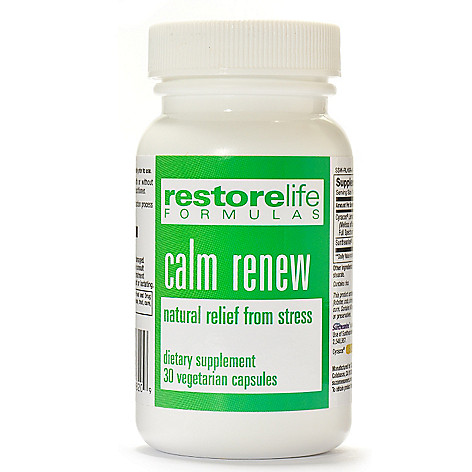 300-491 - Suzanne Somers RestoreLife Calm Renew 30 Capsules