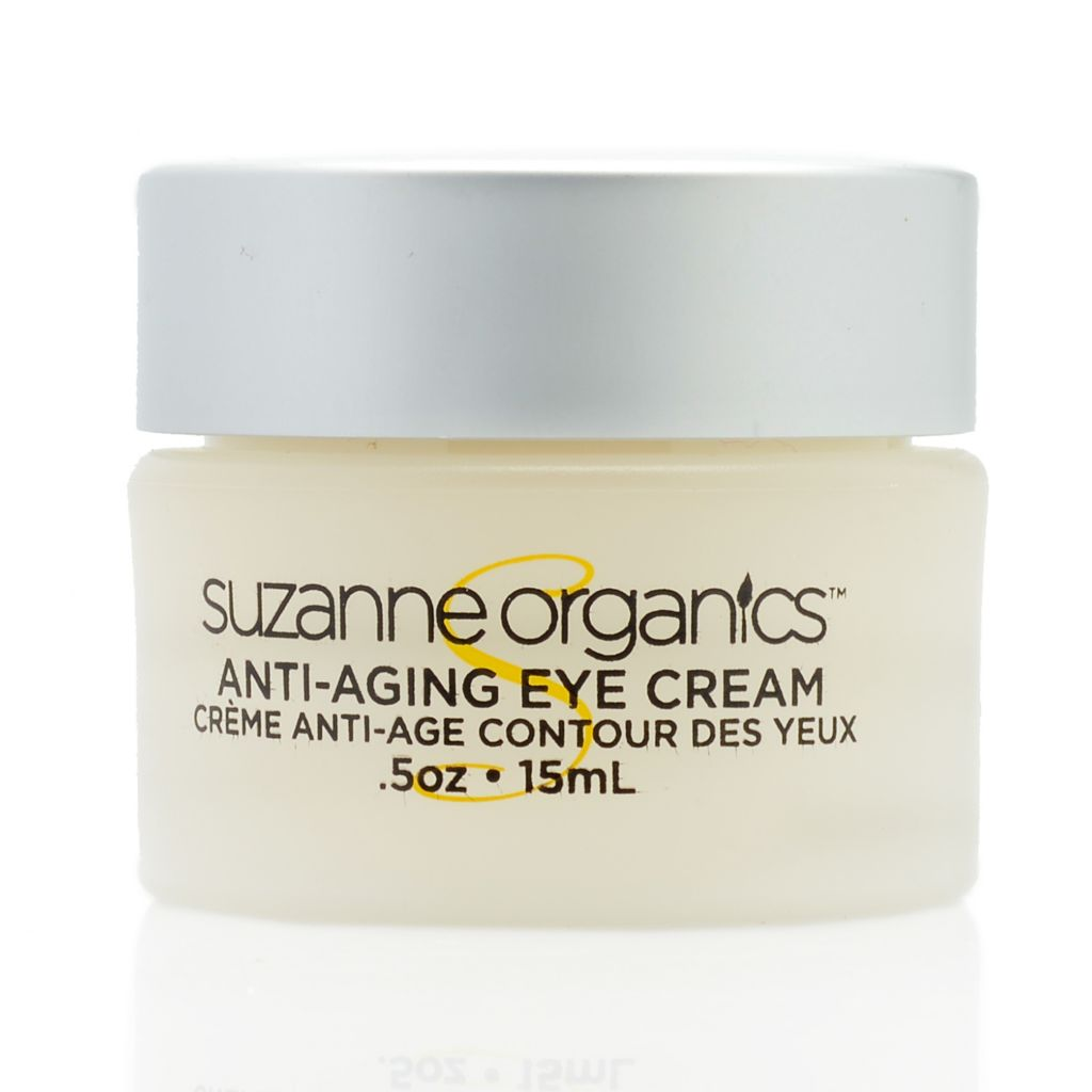 300-669 - Suzanne Somers Organics Eye Cream - 0.50 oz