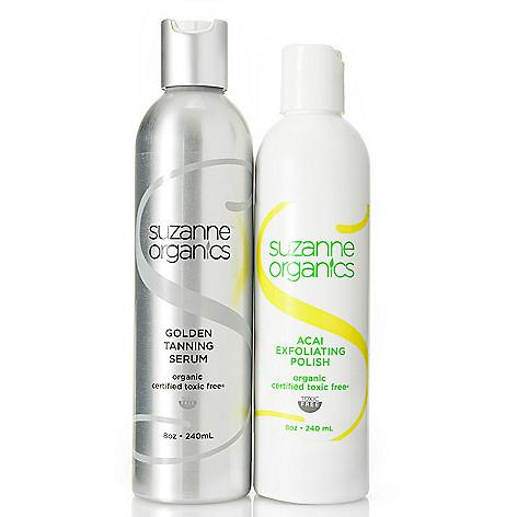 300-701 - Suzanne Somers Organics Acai Polish & Bonus Size Tanning Serum