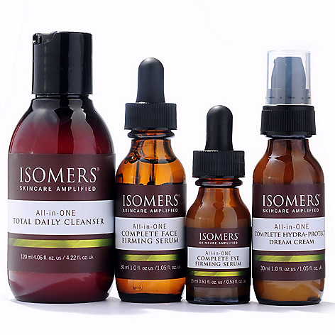 300-713 - ISOMERS Skincare Four-Piece All-in-ONE Universal Skincare System Discovery Set