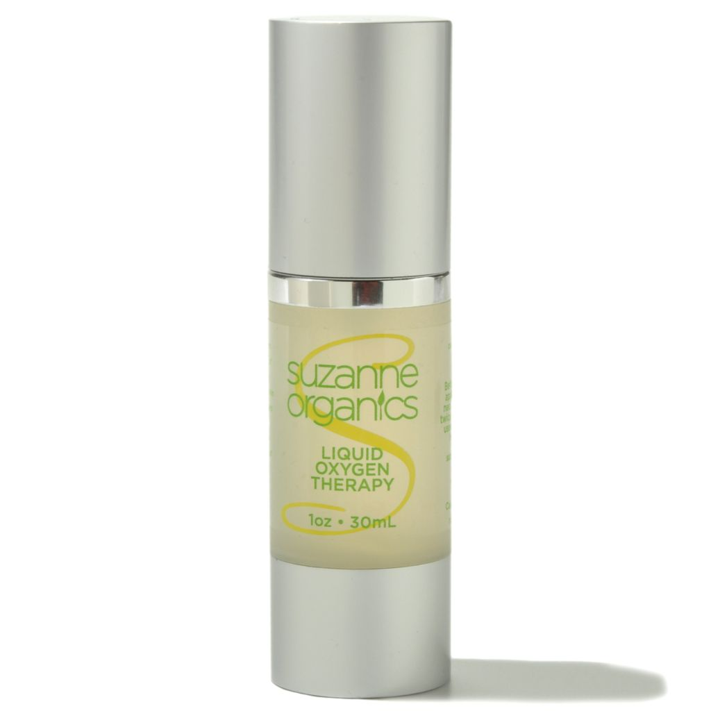 300-949 - Suzanne Somers Organics Liquid Oxygen Therapy Facial Serum 1 oz