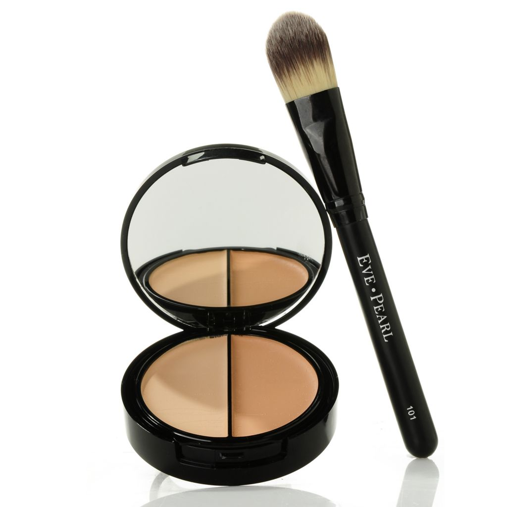 301-151 - EVE PEARL Cosmetics HD Dual Foundation & Brush .39oz