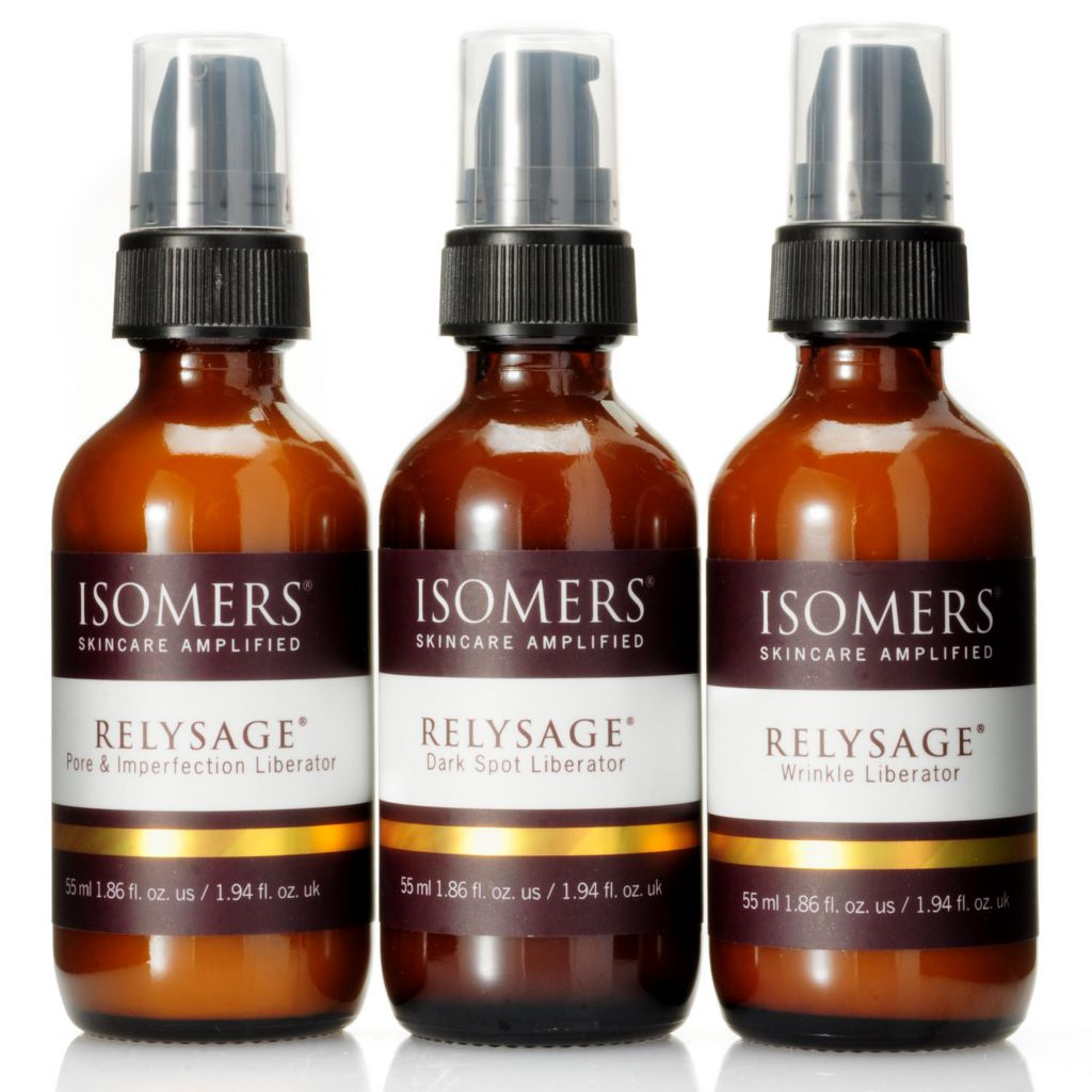 301-401 - ISOMERS RELYSAGE® Three-Piece Advanced Skin Corrector Collection