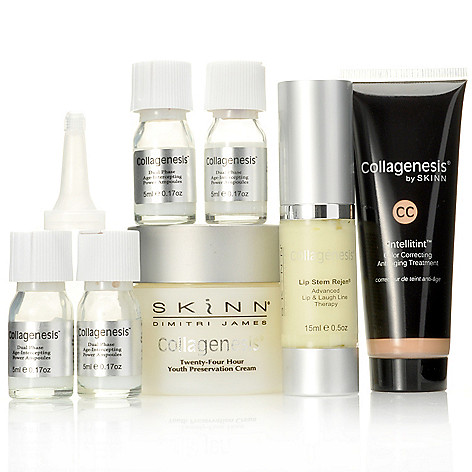 301-408 - Skinn Cosmetics Seven-Piece Collagenesis Ultimate Defense Skincare Set
