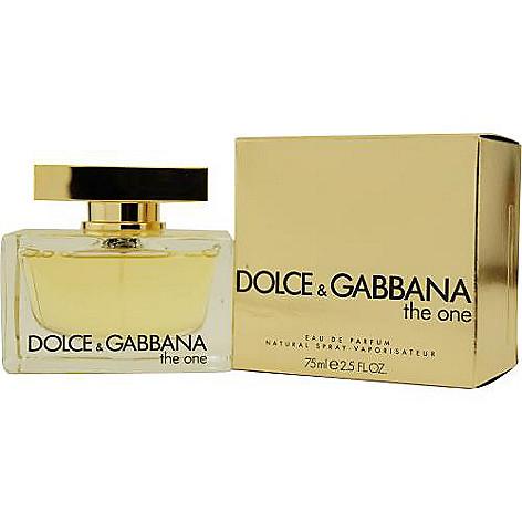 303-099 - Dolce & Gabbana Women's The One Eau de Parfum Spray - 2.5 oz