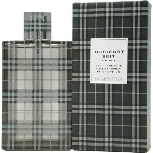 303-110 - Burberry Men's Burberry Brit Eau de Toilette Spray