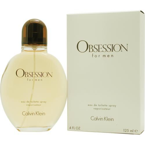 303-131 - Calvin Klein Men's Obsession Eau de Toilette Spray - 4.0 oz