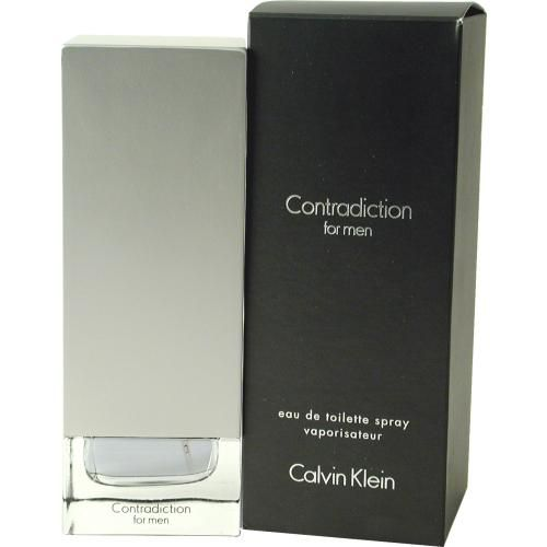 303-185 - Calvin Klein Men's Contradiction Eau de Toilette Spray - 3.4 oz