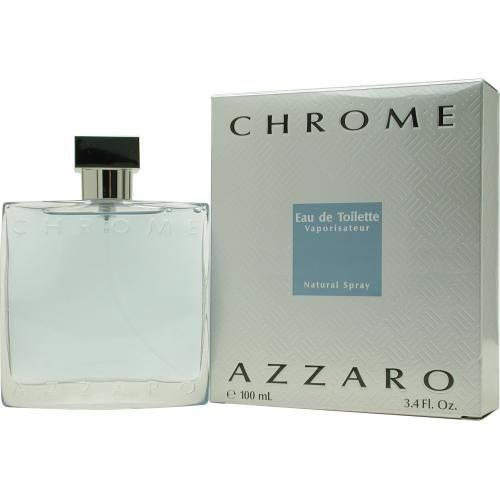 303-210 - Azzaro Men's Chrome Eau de Toilette Spray - 3.4 oz