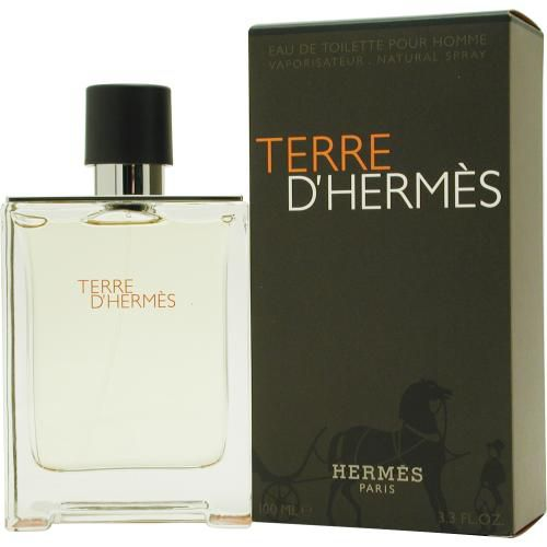 303-221 - Hermes Men's Terre D'Hermes Eau de Toilette Spray - 3.3 oz