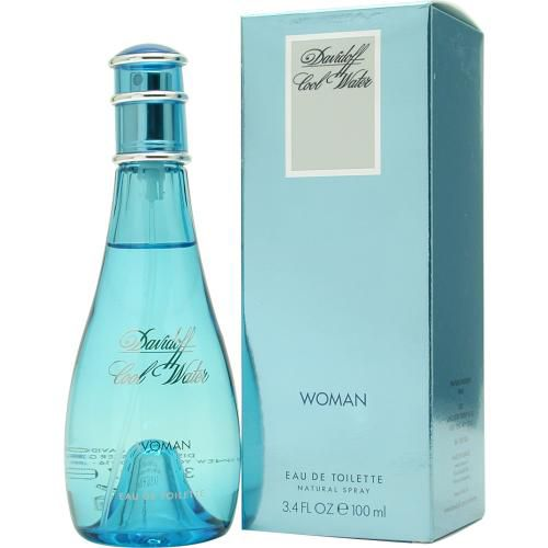 303-254 - Davidoff Cool Water Women's Eau de Toilette Spray – 3.4 oz