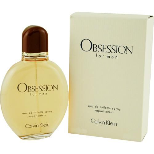 303-293 - Calvin Klein Men's Obsession Eau de Toilette Spray – 2.5 oz