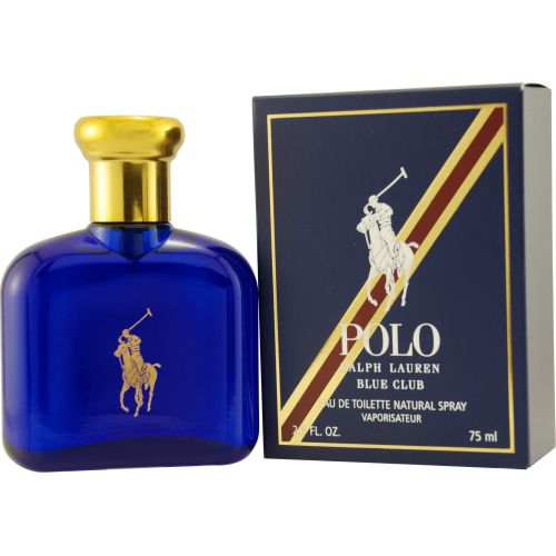 303-322 - Ralph Lauren Men's Polo Blue Club Eau De Toilette Spray - 2.5 oz