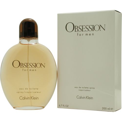 303-359 - Calvin Klein Men's Obsession Eau de Toilette Spray - 6.7 oz
