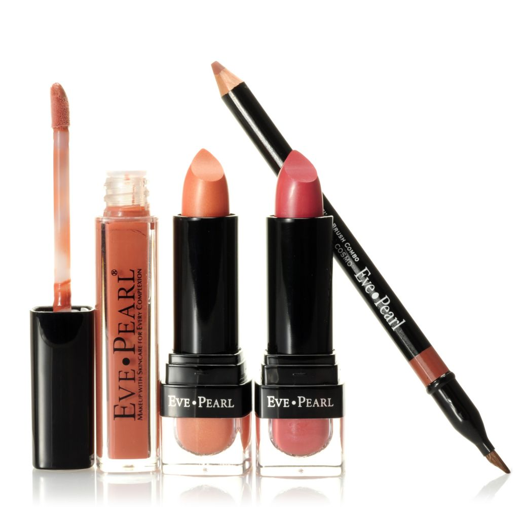 303-988 - EVE PEARL® Cosmetics Four-Piece Neutral Lip Set