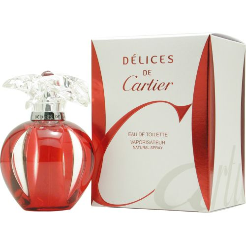 304-247 - Delices de Cartier Women's Eau de Toilette Spray – 3.4 oz