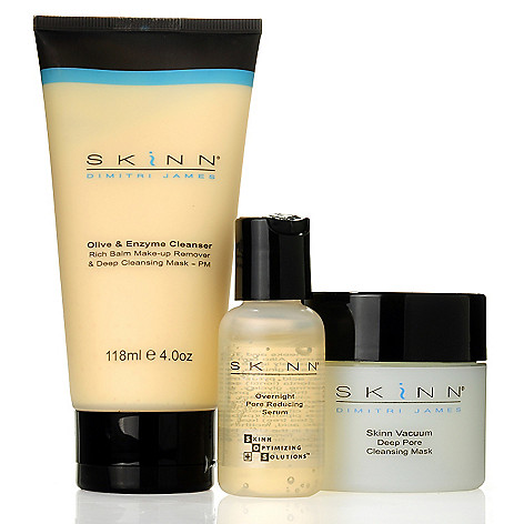 304-289 - Skinn Cosmetics Three-Piece Deep Pore Cleansing Collection