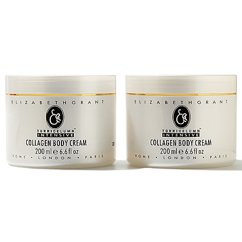 304-476 - Elizabeth Grant Collagen Body Cream Duo 6.6 oz Each