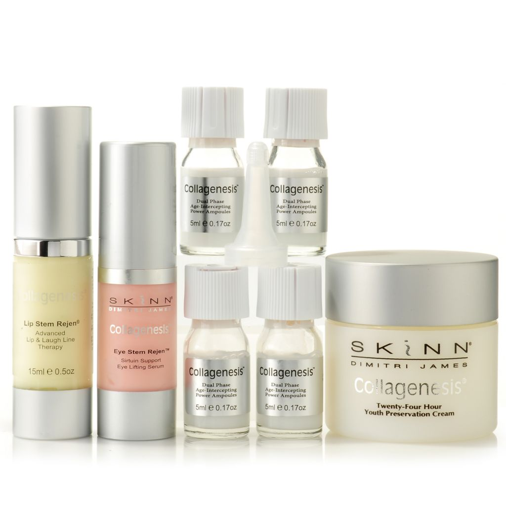 304-486 - Skinn Cosmetics Seven-Piece Collagenesis® Complete Anti-Aging System