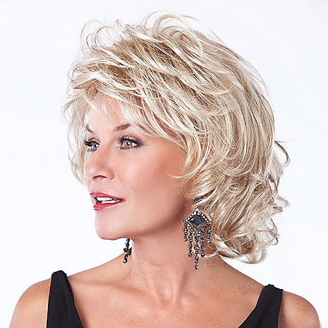 304-529 - Toni Brattin® Shoulder Length Glamorous Silky Waves Alluring Wig