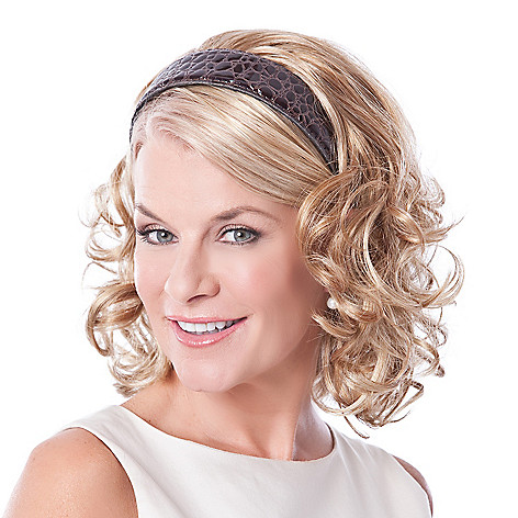 304-532 - Toni Brattin® 14'' Full & Curly Hair Fall w/ Headband