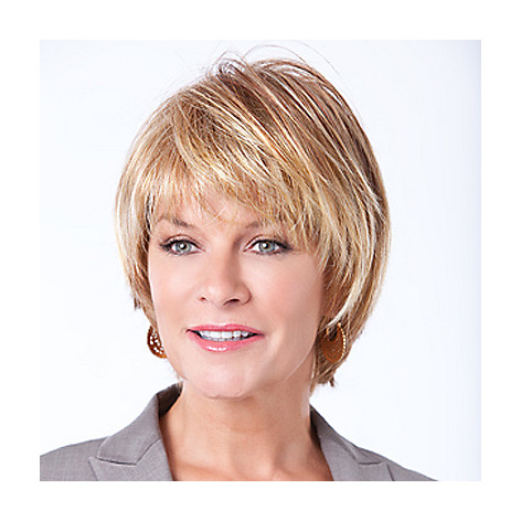 304-540 - Toni Brattin® Casual, Short & Flirty Cut Classic Bob Wig w/ Straight Layers