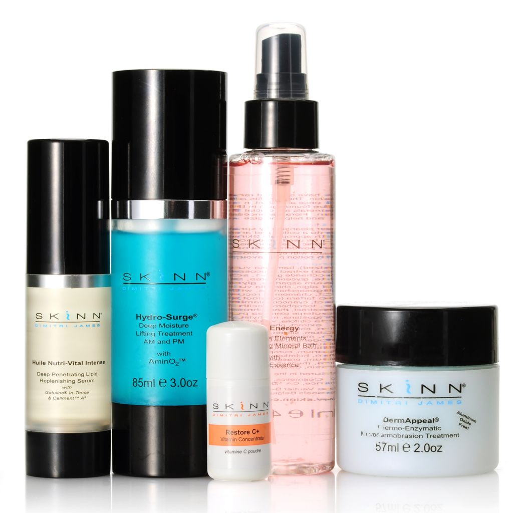 304-602 - Skinn Cosmetics Five-Piece At-Home Quick Facial Kit
