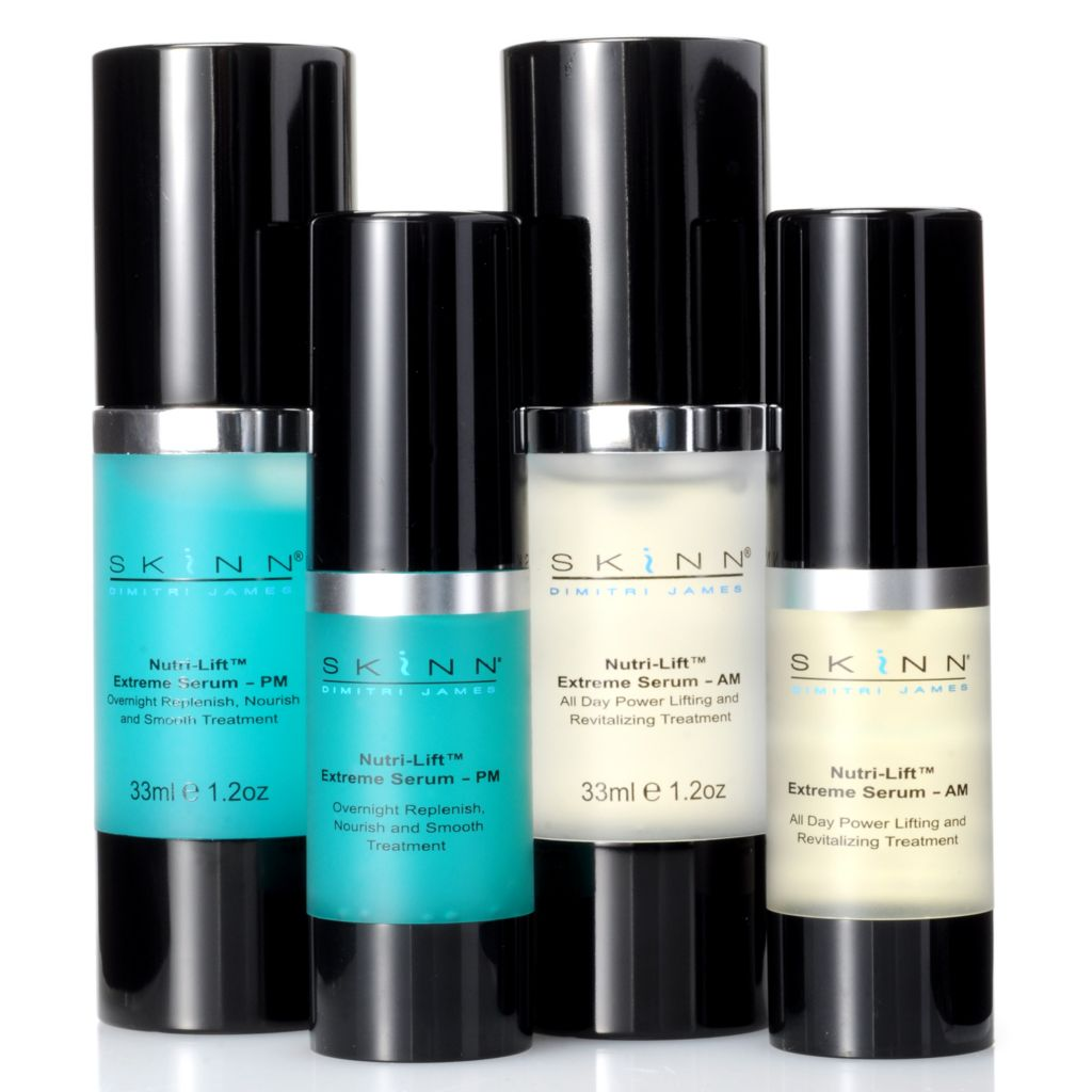 305-086 - Skinn Cosmetics Four-Piece Nutri-Lift Serum Set