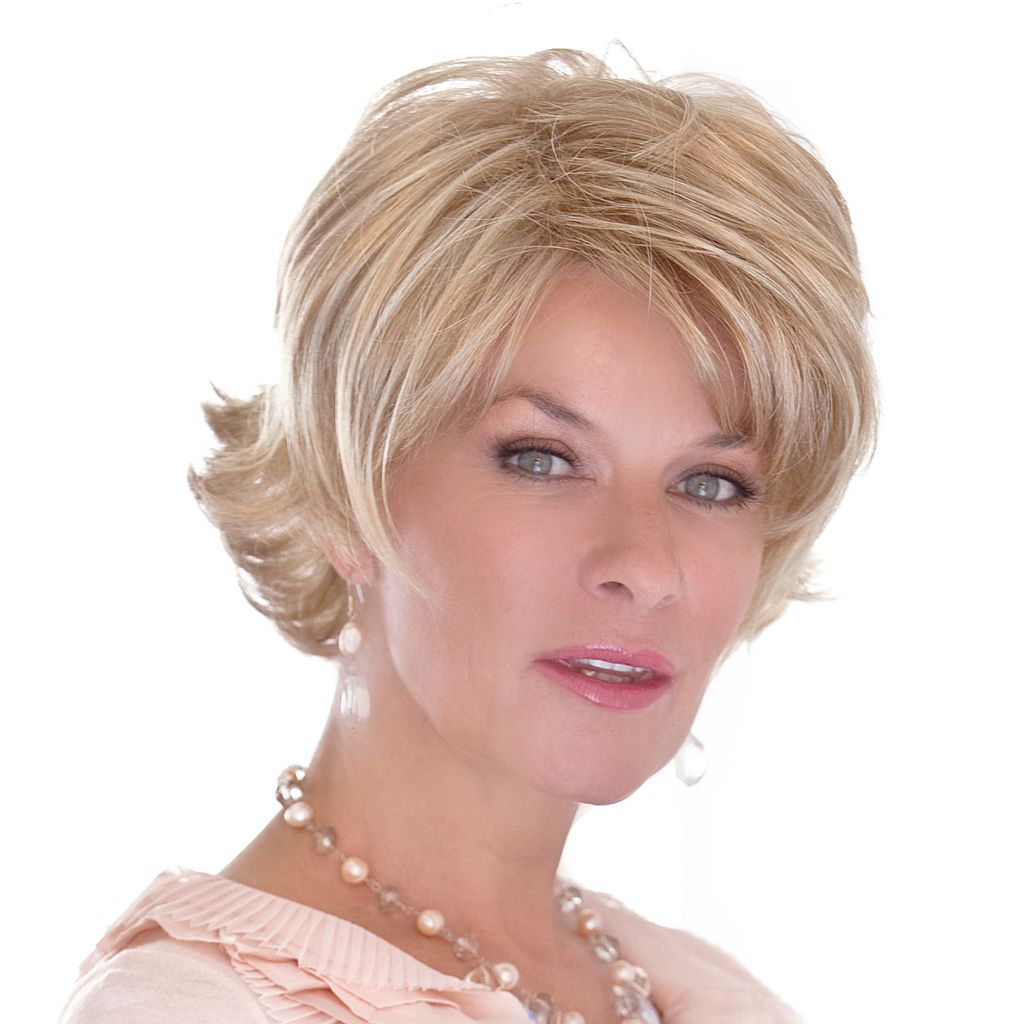 305-109 - Toni Brattin® Collar Length Sweeping Layers Dazzling Wig