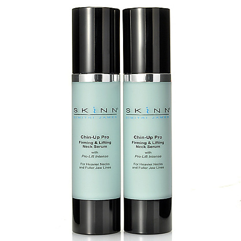 305-175 - Skinn Cosmetics Set of Two Chin-Up Pro Serums 1.7 oz Each
