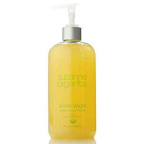 305-211 - Suzanne Somers Organics Body Wash 16 oz