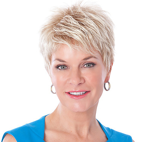 305-213 - Toni Brattin® Short, Basic Cut Attitude Wig w/ All-over Sassy & Edgy Layering