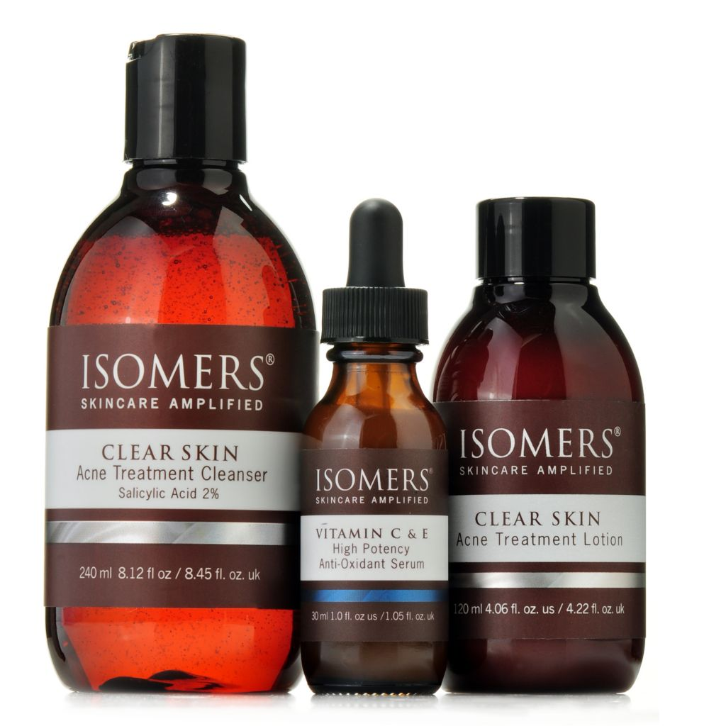 305-216 - ISOMERS® Skin Balancing Cleanser, Lotion & Serum Trio