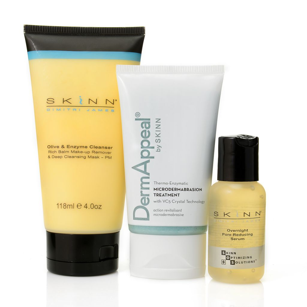 305-223 - Skinn Cosmetics Three-Piece Pore Minimizing Skincare Collection