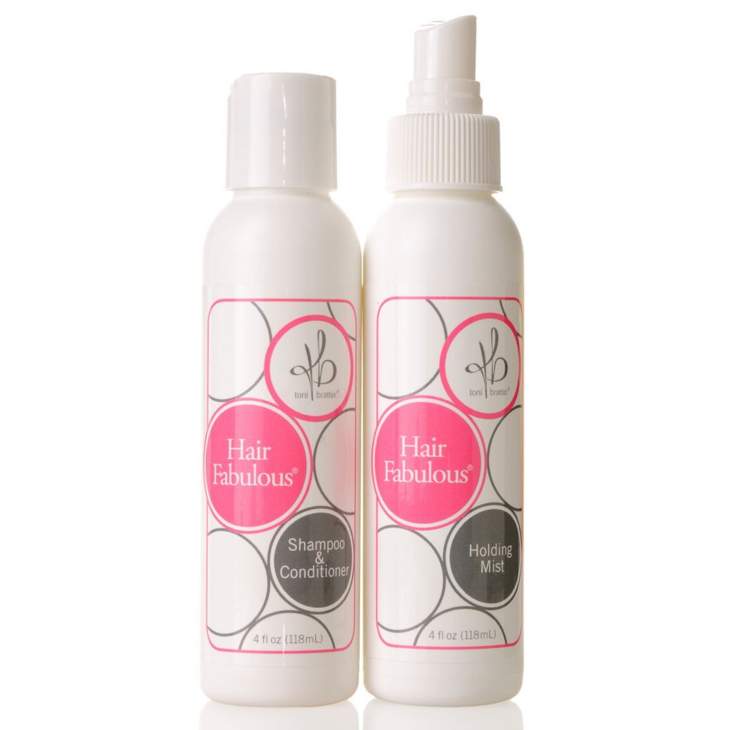 305-226 - Toni Brattin® Hair Fabulous® Shampoo-Conditioner & Holding Mist Haircare Kit