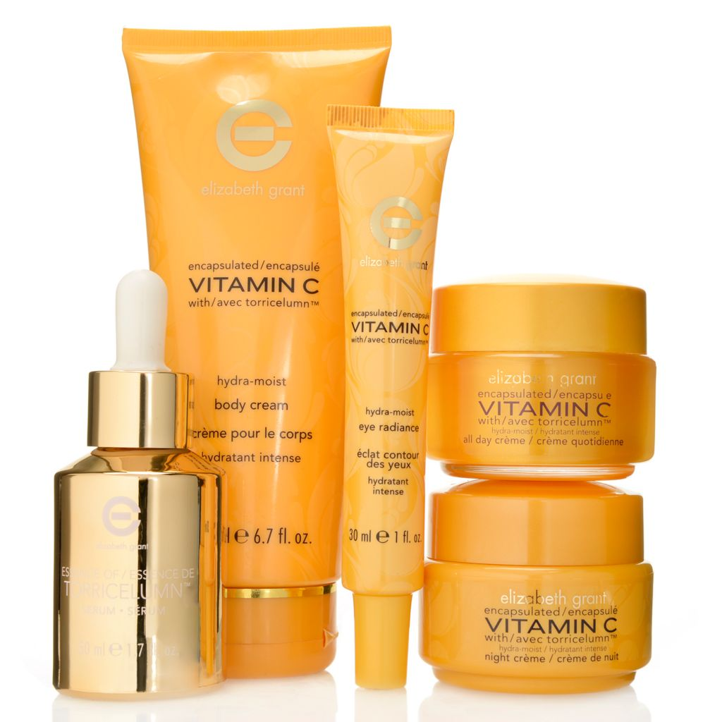 305-299 - Elizabeth Grant Five-Piece Vitamin C Hydra Moist Kit