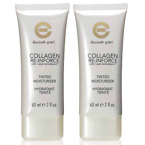305-307 - Elizabeth Grant Collagen Re-Inforce Tinted Moisturizer Duo - 2 oz Each