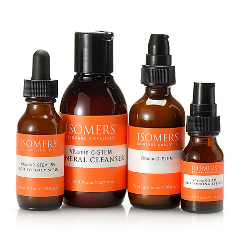 305-323 - ISOMERS® Four-Piece Vitamin C-STEM Essential Wrinkle Solution Set