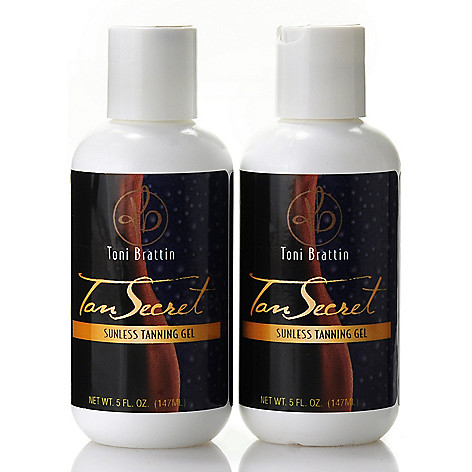305-332 - Toni Brattin Tan Secret Sunless Tanning Gel Duo 5 oz Each