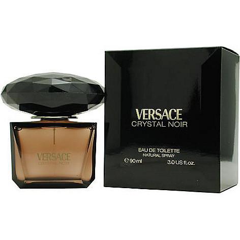 305-427 - Versace Women's Crystal Noir Eau de Toilette Spray - 3 oz