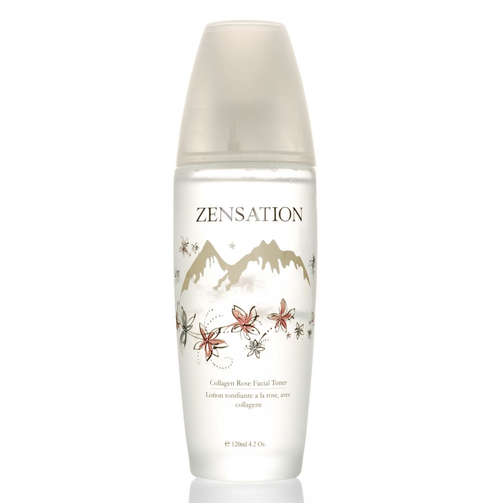 305-523 - ZENSATION® Collagen Rose Facial Toner 4 oz