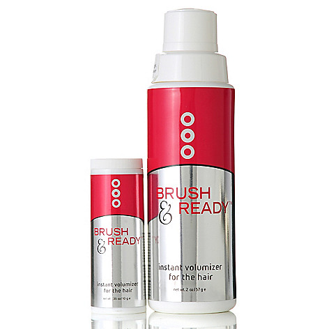 305-543 - Toni Brattin® Two-Piece ''Brush & Ready'' Dry Shampoo w/ Travel Size Bonus