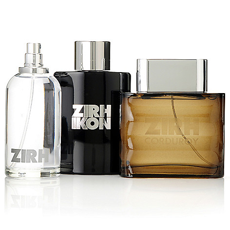305-549 - ZIRH Three-Piece Classic, Ikon & Corduroy Men's Fragrance Collection