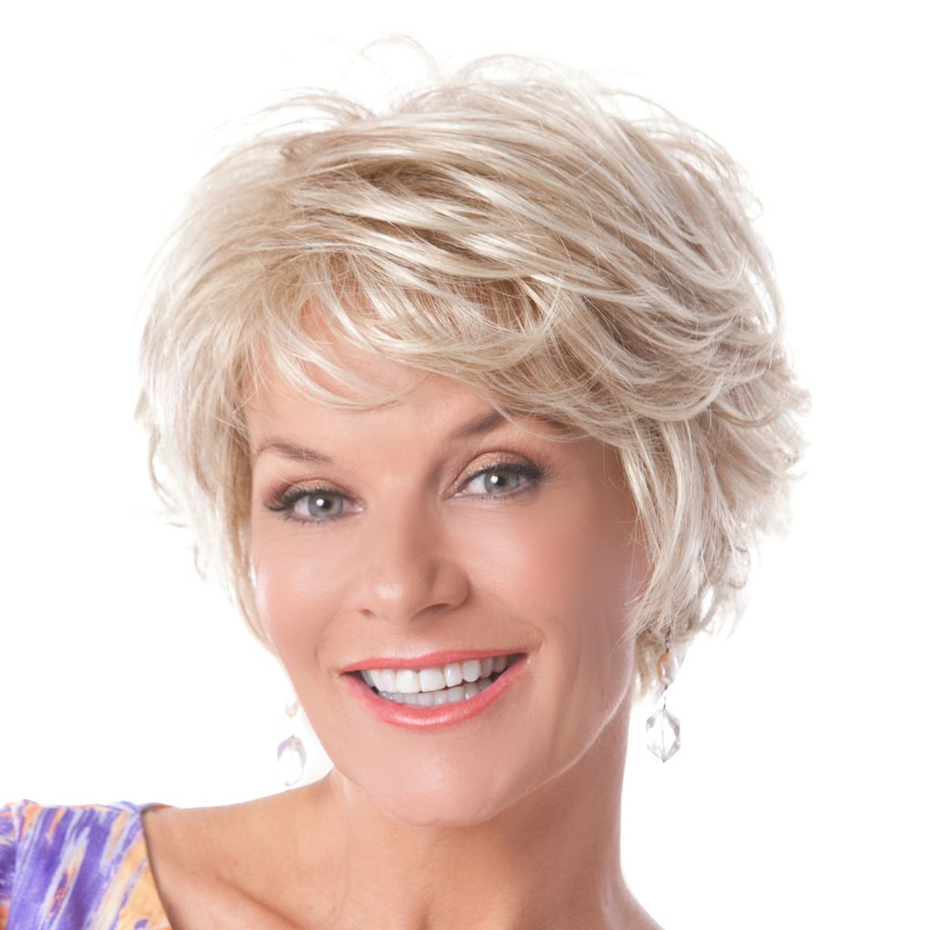305-563 - Toni Brattin® Short Classic Cut Softly Curled Layers Salon Select Wig