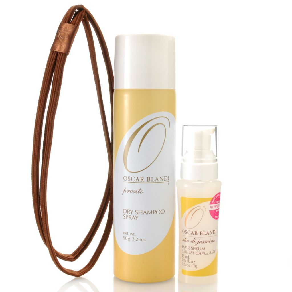 305-577 - OSCAR BLANDI® Three-Piece Hair Serum, Dry Shampoo Spray & Headband Set