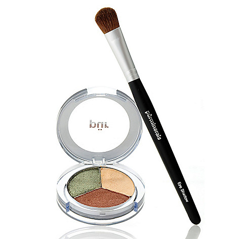 305-593 - Pür Minerals Two-Piece ''Bombshell Beauty'' Shadow Trio w/ Shadow Brush