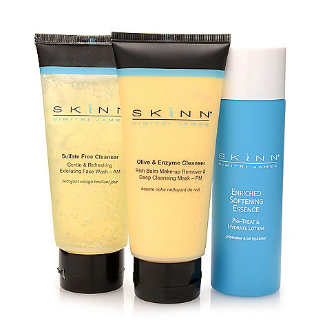 305-629 - Skinn Cosmetics Three-Piece Cleansers & Softening Essence Collection