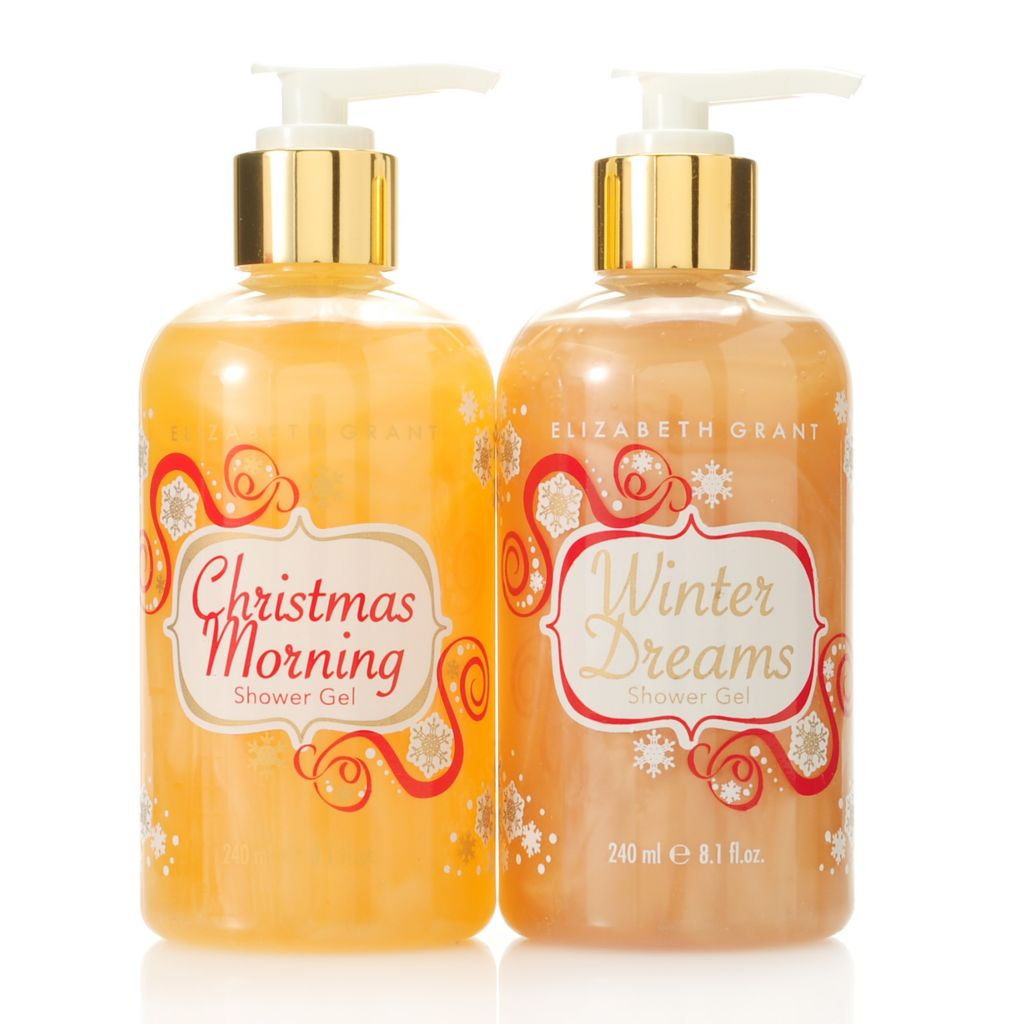 305-637 - Elizabeth Grant Winter Dreams & Christmas Morning Shower Gel Duo 8.1 oz Each